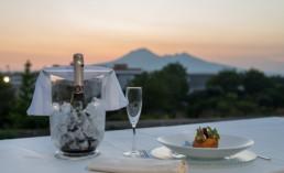Cena vista Vesuvio